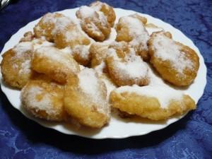 Frittelle allo Zibibbo